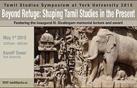 Tamil Studies Symposium partial poster