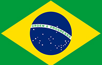 Pan Am welcome graphic for the Brazil team
