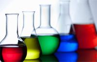beakers and chemistry equipment
