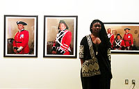 Anique Jordan's photographs are on display at the Art Gallery of Ontario until Aug. 31. Jordan is a masters student at York U in the Faculty of Environmental Studies.