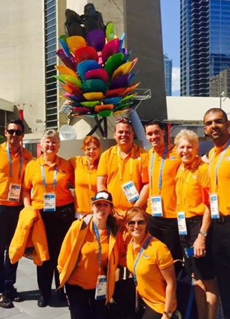York Athletic Therapy Certificate grads and faculty get ready for the Pan Am Games