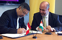 Lassonde MOU with IIT signing ceremony
