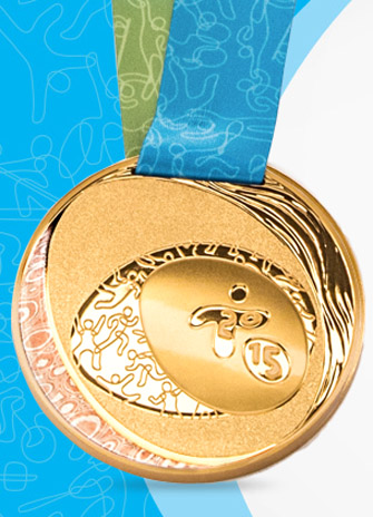 Pan Am Medals, photo: Canadian Mint
