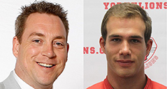 Russ Herrington and Jesse Messier join the men's hockey coaching staff as assistants this season