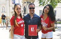 York U students travelled to Italy over the summer during a study abroad course