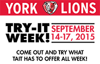 Try-It Week runs Sept. 14 to 17 at Tait Mackenzie
