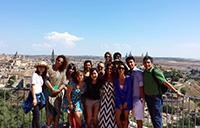 York University students in Toledo, Spain