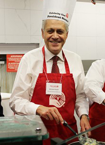 President and Vice-Chancellor Mamdouh Shoukri will flip flapjacks in support of United Way, Nov. 3