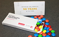 Get your free M&Ms on Oct. 15 at Vari Hall to celebrate 50 years of Osgoode and York U