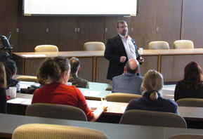 More than 70 members of the York community attended the open forum, which was held in the University's Senate Chamber
