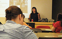 York u students and grads participated in a Career Centre workshop on launching a business on Etsy