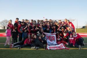 The Lions won the 2015 CIS men's soccer championship