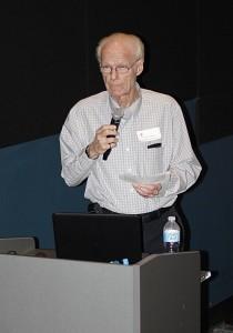 York University Emeritus Professor Allan Carswell
