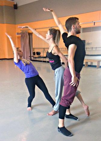 "Students rehearse Christina Logan's trio ""Embers"""