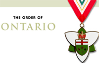 Featured image of the Order of Ontario medal