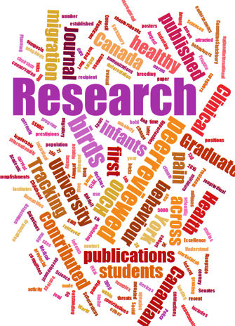 TagCloud for Research Awards