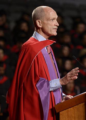 David Denison receives honorary degree from York University