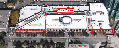 Work-Zones-for-construction-at-York-University