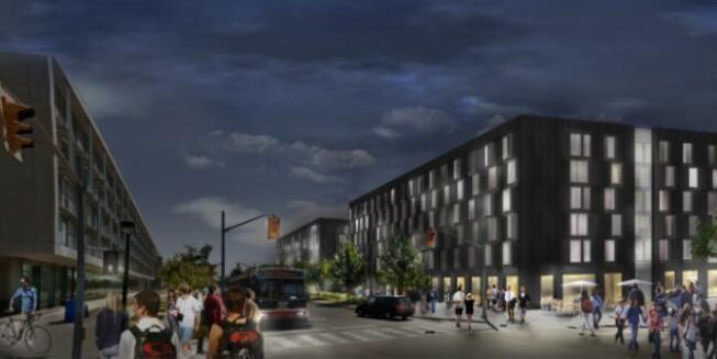 Quad housing, building design