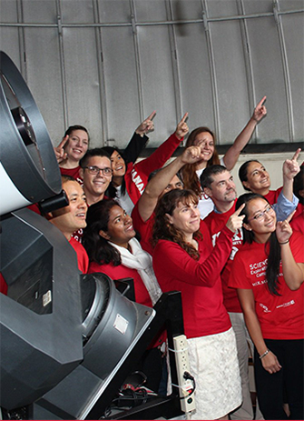 FEATURED image of the Red and White day photo contest image, showing the Faculty of Science