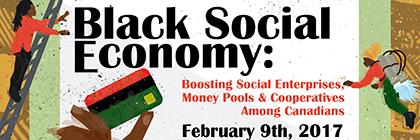 Black Social Economy poster