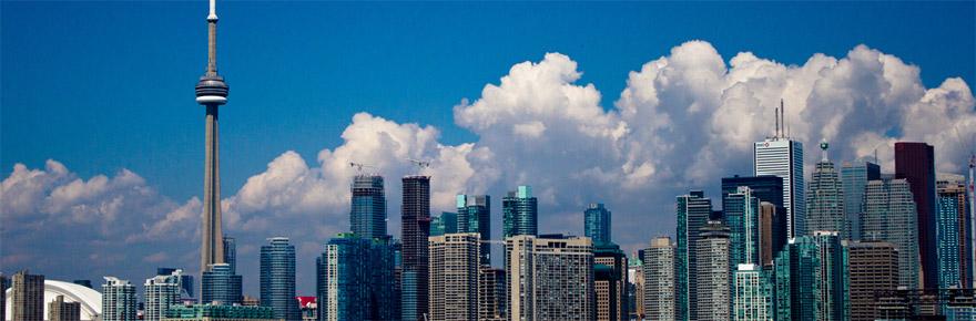 skyline of the city of Toronto