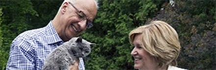Dr. David Bell with his wife Kaaren