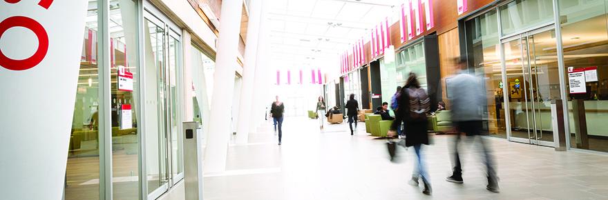 Osgoode Hall Law School main foyer hallway