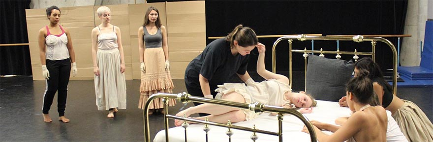 Rehearsal Image from the Yellow Wallpaper