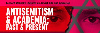 Centre for Jewish Studies lecture