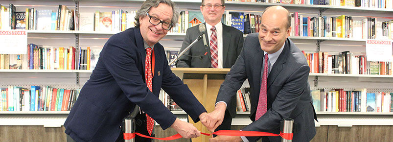 University bookstore re-opening