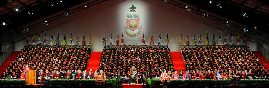 the convocation stage