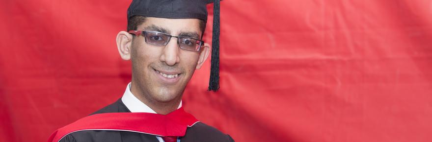 Administrative Studies student Alamgir Khandwala is the recipient of the Murray G. Ross Award