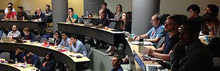 Participants at the TEPS workshop