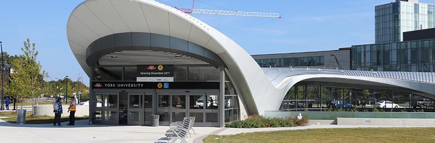 TTC Station at York U