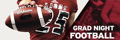 Grad Night Football lions sports York U