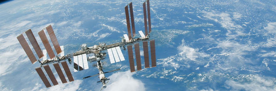 Having knowledge on how to operate and analyze the results of a test on space materials in crucial to obtaining a space-related job or career in the future. Pictured above is the International Space Station, a living laboratory of space engineering, hardware and materials. Photo: NASA