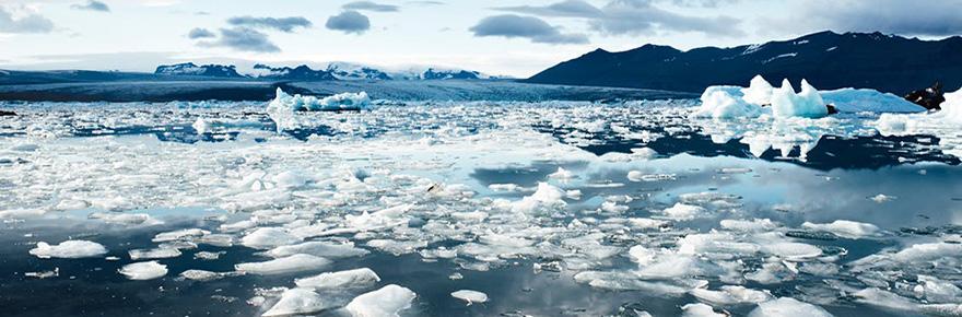 climate change iceburg