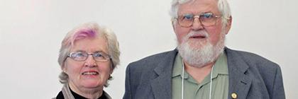 retired York professors, Penny and John Van Esterik