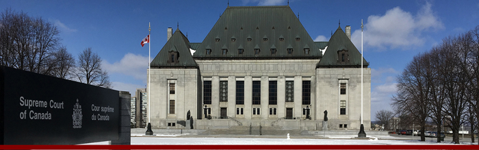 Access to justice is essential in the Canadian judicial system. Photo courtesy of the Supreme Court of Canada