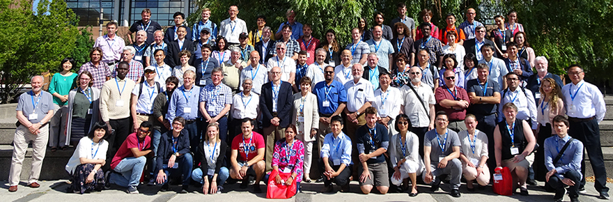 Attendees of the 14th th Qquadrennial Solar-Terrestrial Physics Symposium, hosted by York University
