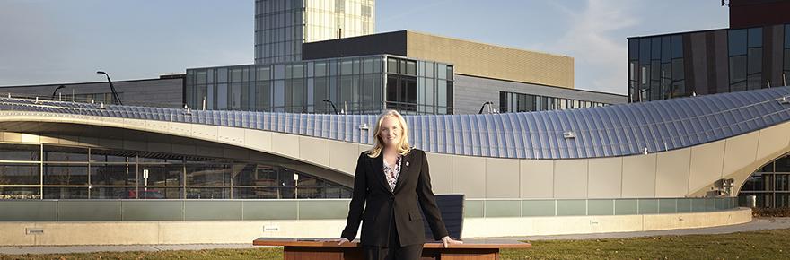 Dr. Rhonda L. Lenton on the Keele Campus