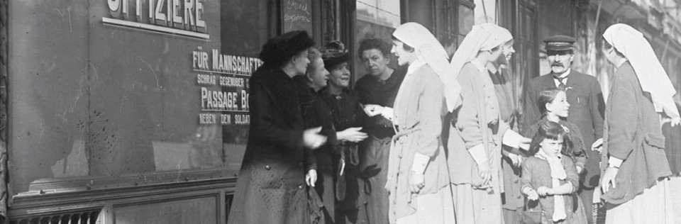 Nurses in the First World War