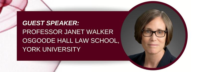 Jean-Gabriel Castel Lecture Janet Walker