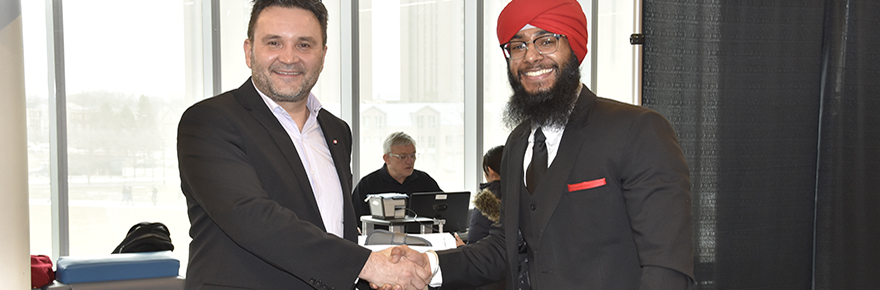 Denis Robert (from the Treasury Board of Canada Secretariat) and Sukhpreet Singh