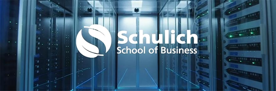 An image depicting the logo for Schulich School of Business