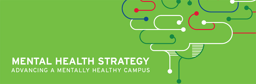 Mental Health strategy promotional banner