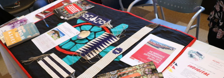 ORU Open House Table for the Centre for Indigenous Knowledges and Languages