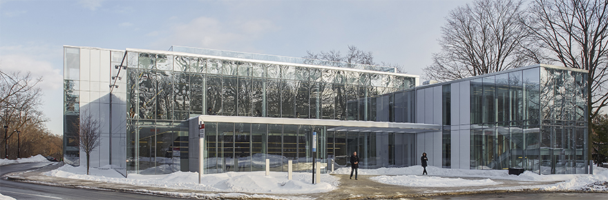 Glendon Campus in the winter