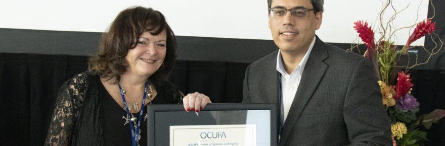 Andrea O'Reilly and Rahul Sapra